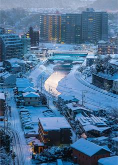 グランプリを受賞した内藤智博さんの「雪景色大栗橋」