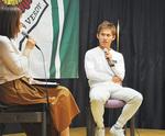 奈良輪選手のトークショーも