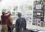各団体の活動展示が行われた