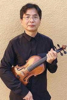 谷本潤さん(ヴァイオリン)
