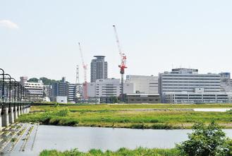 建築計画が進められている聖蹟桜ヶ丘北地区