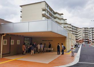 都営住宅との合築で整備された施設