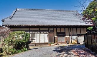 1885年頃に建てられた川井家住宅主屋