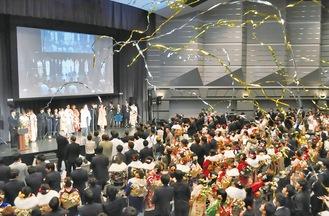 910人が出席した今年の成人式