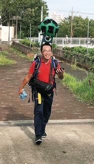 昨年9月からメンバーが歩いて撮影した画像が公開された=多摩市提供