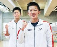競泳全国大会で活躍