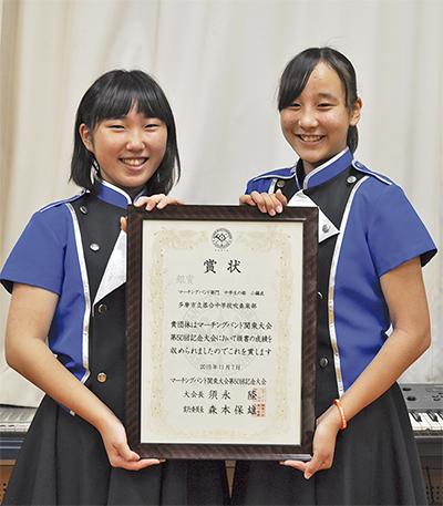 コンクール初参加で関東「銀」