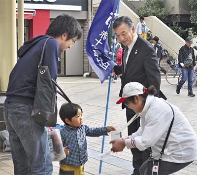 「熊本へ」市内から支援続々