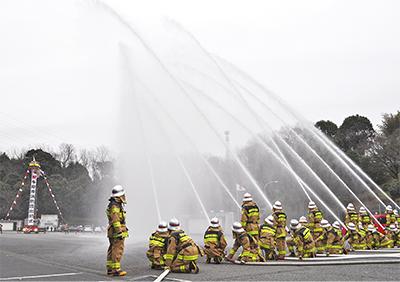 「市民に信頼される消防団に」