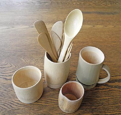 地元の竹でマイカップを