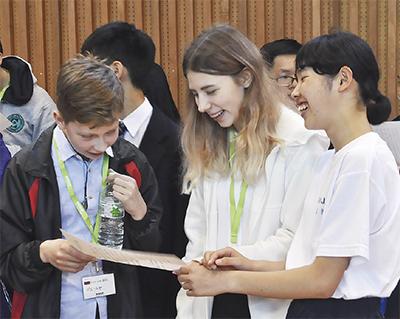 13カ国の学生と交流