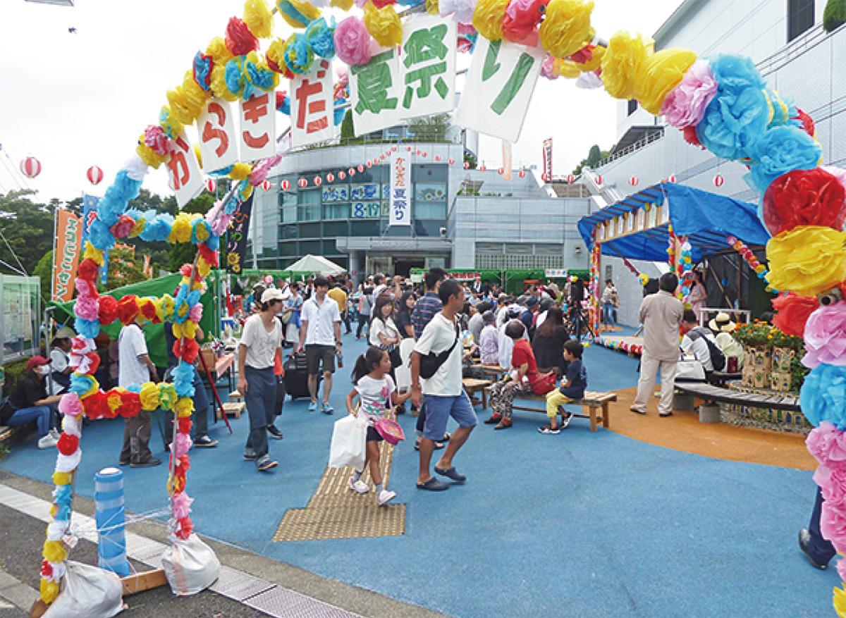唐木田で夏祭り