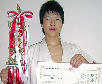 2連覇を果たした伊澤選手