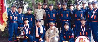 第2分団のメンバー18人