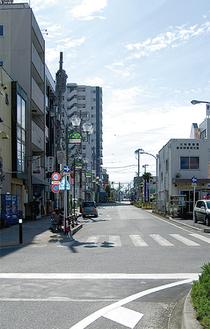 南林間駅西口広場から座間方面