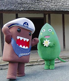 マドロスどーもくんとヤマトン(右)