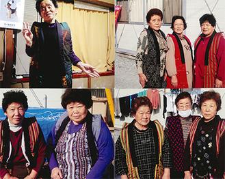 福島県相馬市の仮設住宅で暮らす人達から届いた写真