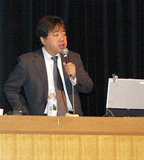 講師の田中啓司氏