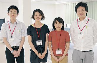 臨床心理士、看護師、作業療法士などの専門職がチームで復職を支援する