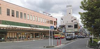 会場の西口広場