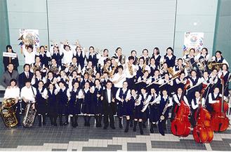 日本管楽合奏コンテストにも出場した大和中学校吹奏楽部