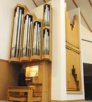 南ドイツから高座教会に移設されたオルガン