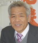 さっぱりした表情で選挙戦を振り返る高久良美氏