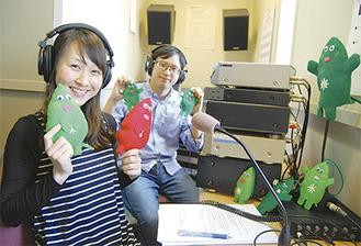 担当パーソナリティーの露木さん(左)