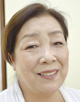 大和間税会の初の女性会長に就任した 竹村 和子さん (株)誠電社専務 66歳