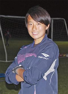 代表候補キャンプに参加した水口茉優選手