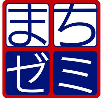 赤と紺が特徴のマーク