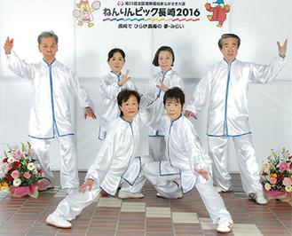 サイレントフラッシュのメンバー(後列左から、佐藤さん、延原さん、斎藤さん、桑原さん。前列左から天野さん、大野さん)