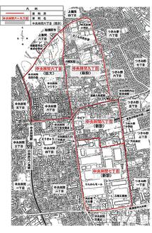 内山地区住居表示の市素案