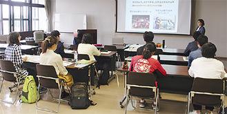 リオ五輪のボランティアの参加者が体験談を披露