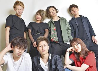 (後列左から)小松崎さん、松田さん、平野さん、青木さん(前列左から)三浦さん、山田さん、野中さん