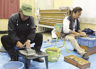 五十嵐さん(左)と中村さん