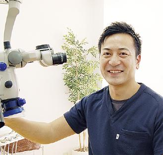「これからも地域に役立つ歯科医療を提供したい」と増永院長