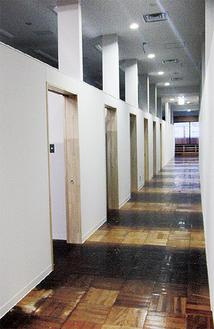 サークルなどが通年利用できる「部室」