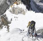 昨年は6000m超3座連続登頂に成功した