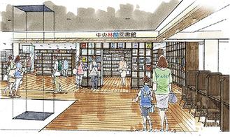 中央林間図書館のイメージ
