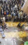 ベテルギウスではクラッカーで開館を祝った