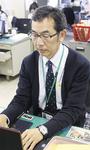 4月から再任用で保健福祉センターで働く中丸さん。陸前高田には「イベント等の時に顔を出せれば」と話す