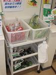 トウモロコシも並ぶ桜ヶ丘郵便局