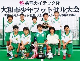 緑野FCの選手たち