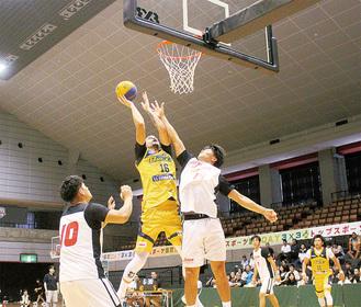 日本代表候補のプレーが大和で繰り広げられた