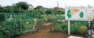 市内21カ所ある農園