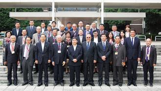 大木市長と台湾高座会青年部ら