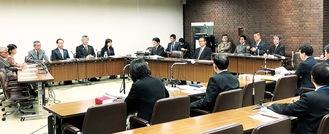 18日に開かれた総務常任委員会