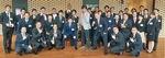 大平さん(中央)を中心に盛会を喜ぶ大和YEGメンバー