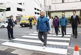 新たに横断歩道設置